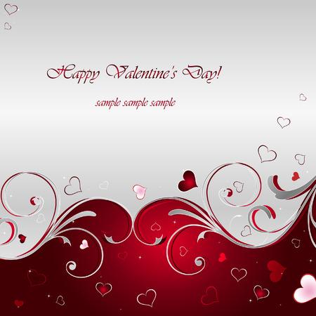 Fondo de Vector del día de San Valentín  Ilustración de vector