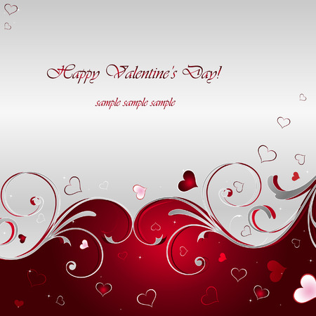 Valentine's Day Vector Background Stock Vector - 8888010