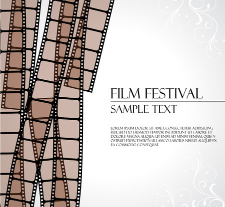 filmstrip vector template  Vector
