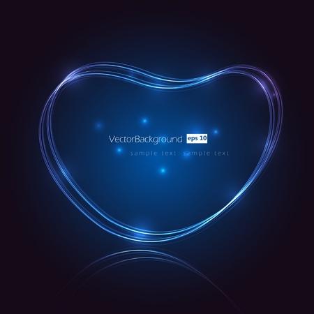 Eps10 Speech Bubble Light Vector Design