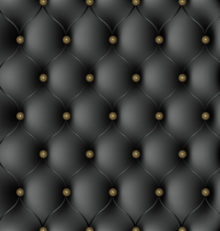 old leather: Royal Black Leather Texture Illustration