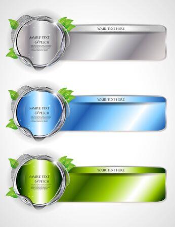 Set of Elegant Banners