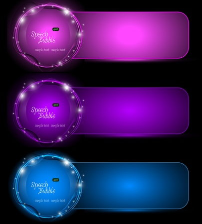 Set of Elegant Eps10 Banners  Vector