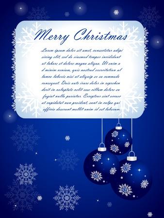 Christmas Card Stock Vector - 10603158