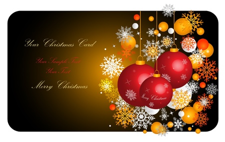 Christmas Banner. Eps10 Vector Illustration  Vector