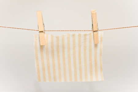 barrettes: small clothespins for small cloth hanging