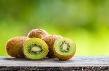kiwi fruit 写真素材