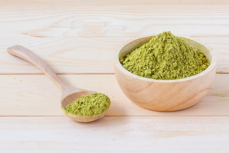 green herbs: Matcha Tea