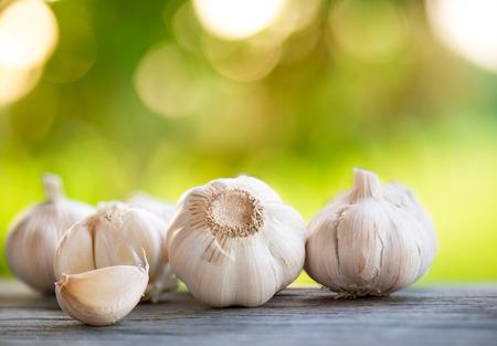 fresh garlic: Garlic