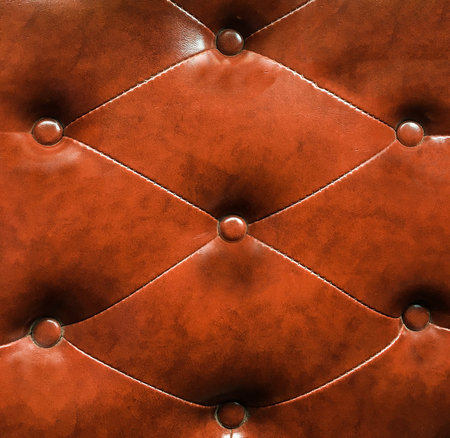 upholstery: Brown upholstery leather pattern background Stock Photo