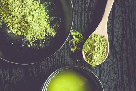 maccha: Matcha Tea in a Bowl