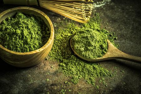 maccha: Matcha green tea