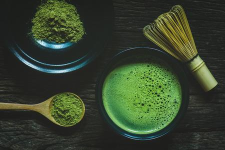 Tè verde Matcha Archivio Fotografico - 81933270