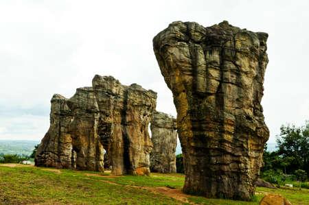 monolithic: Monolithic nature in Thailand