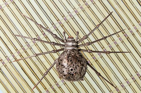 arachnoid: Spider Puppets Iron on the surface of varied
