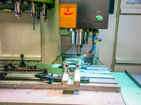 Mass production of metal parts And high quality to meet the industry. Must have standardized machinery.