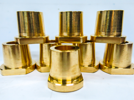 Brass material round
