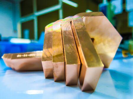 Copper raw metal set