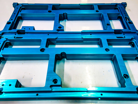 Steel sgrew  Product chrome blue metal plate set