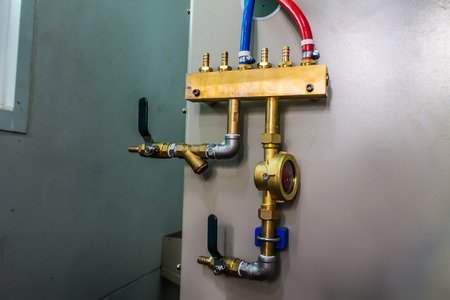 water pipe plumbing threaded brass pumping system valve steel