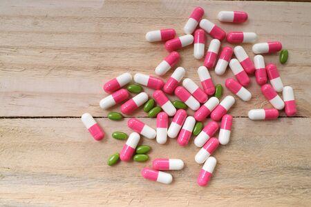 mdma: pills and capsules. Stock Photo