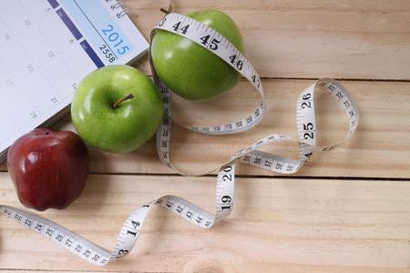 스포츠, 피트니스, 녹음, 메모장, 체중 감량의 개념, 다이어트, 영양