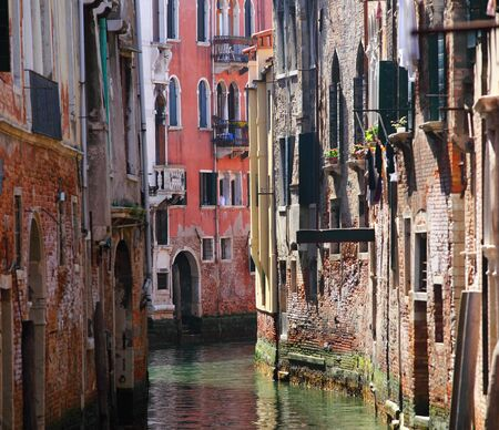 grand canal: Historic houses of the Grand Canal in Venice