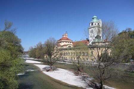 in bavaria: famous munich  - germany - bavaria