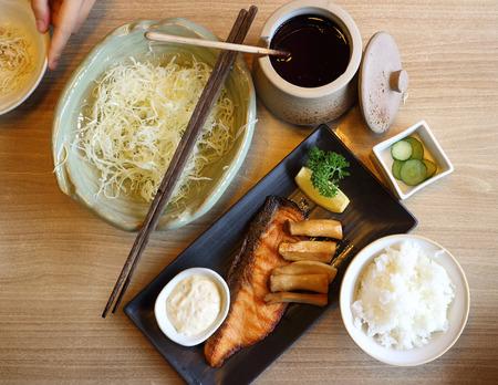 소금, 일본 요리 구이 태평양 꽁치