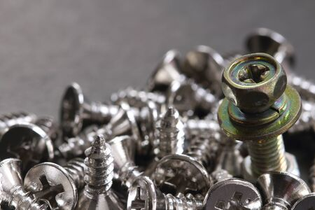 bolts and nuts: bolts, nuts, screws concept idea