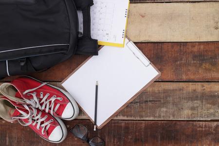 학교, 가방, 배낭.