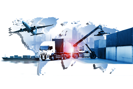 world transportation business Banque d'images