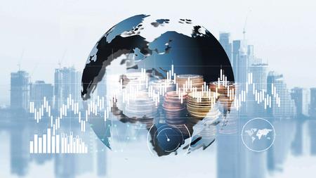 world finance moeny exchange 版權商用圖片 - 108802251