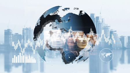 world finance moeny exchange Stock fotó