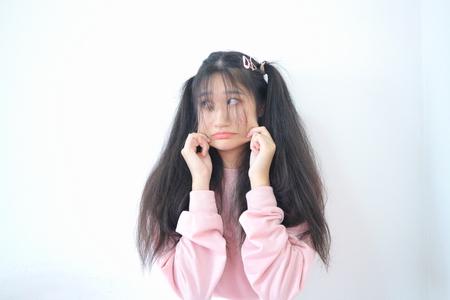 asian girl smile 免版税图像