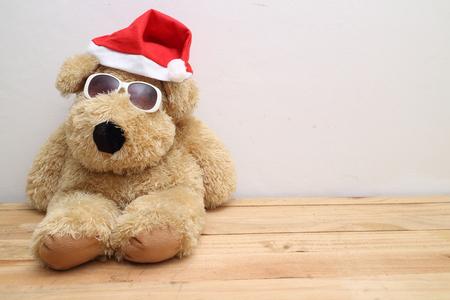 Christmas toy dog Stock Photo