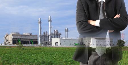 eco green factory concept