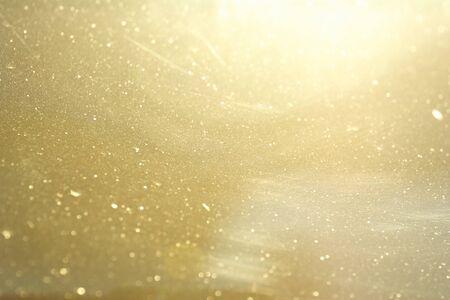 abstract gold background retro bokeh Standard-Bild