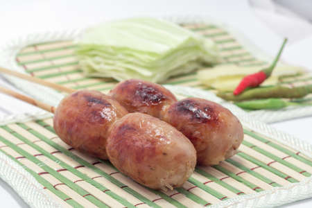 northeastern: Sausage Northeastern Style in Thailand