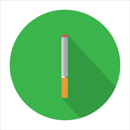 healthier: Stock Vector Illustration: Cigarette vector icon illustration. Smoking symbol. Illustration