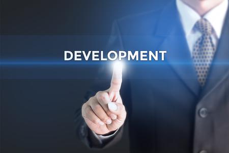 assembly language: business man , development concept