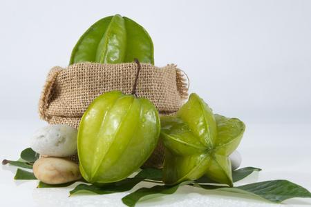 apple sack: Thai fruit ,star apple on the sack