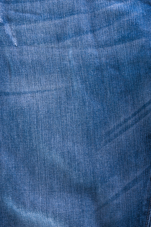 crumpled tissue: background shabby blue jeans texture crumpled tissue Stock Photo