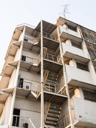 Fire escape on a building in Bangkok Stock Photo - 17575050