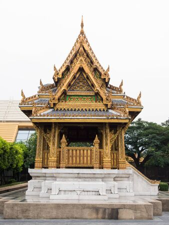 Lateral Of Ancient Pavilion Thai Style photo