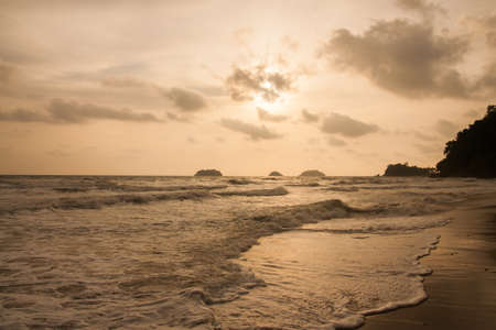 legian: Beach Sunset
