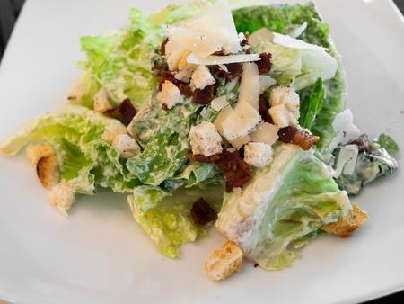 bacon bits: Ceasar Salad