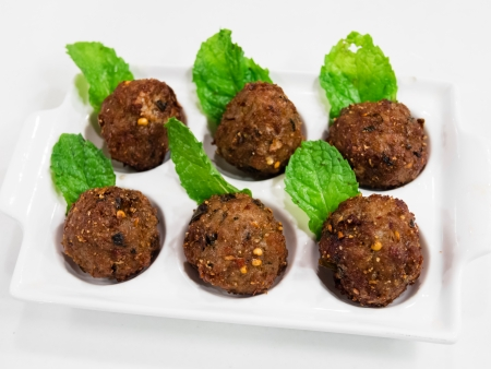 spicy pork mince balls photo