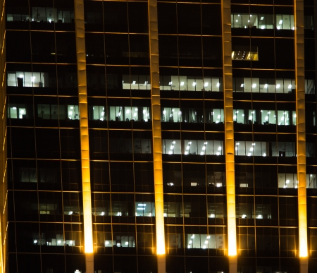 Building at night photo