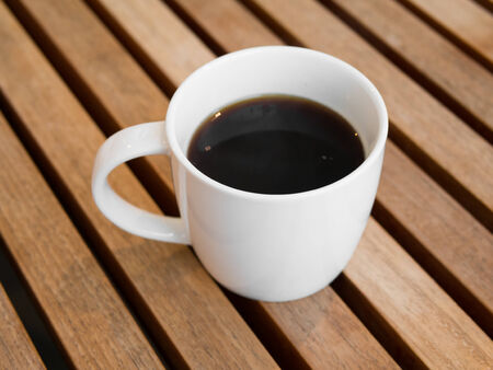 americano: Americano black coffee Stock Photo